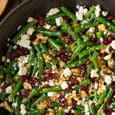 Salade-haricots-cranberry