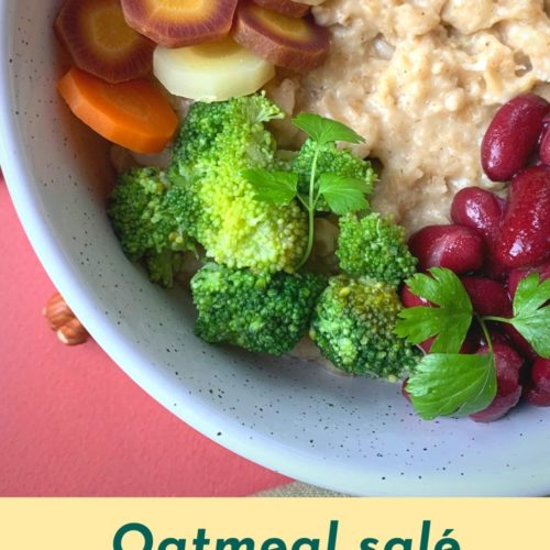 oatmeal salé pin